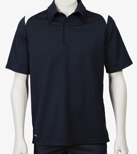 Shoulder Contrast Company Polo