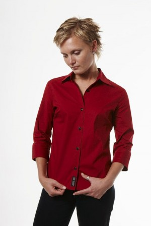 ladies fitted corporate shirt