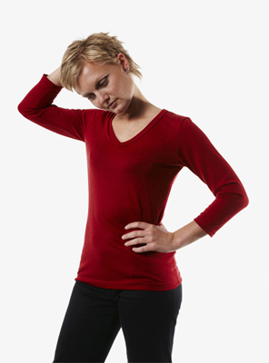 poppy ladies merino t shirt