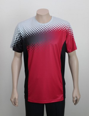 Airo Sublimated T-Shirt-Red-Front