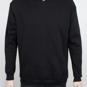 contrast hooded sweatshirt