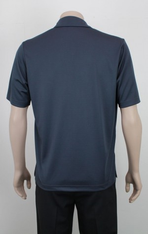 Stripe_Breathable_Polo_Charcoal_Back