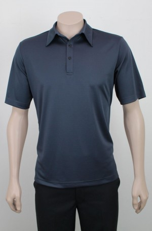 Self Stripe Microfiber Corporate Polo