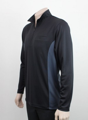 Totara Zip Long Sleeve - Side