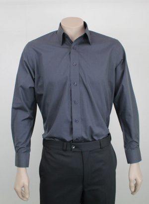 Kent Shirt - Egypt Cotton - Charcoal