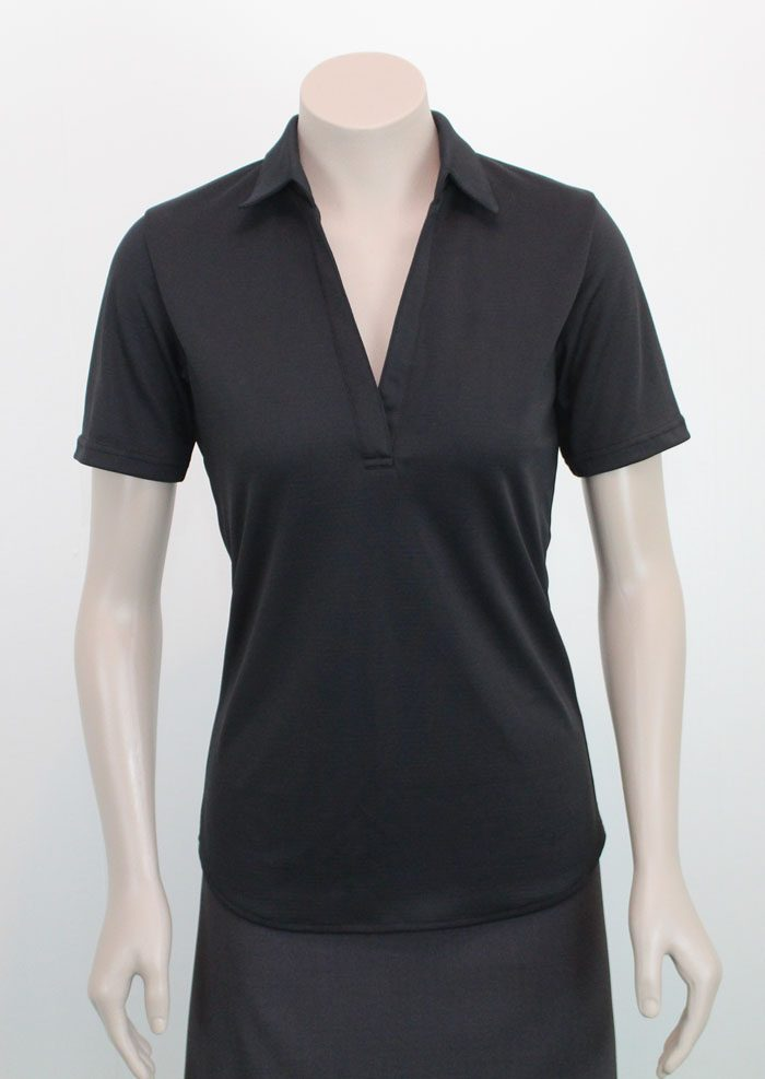 Ava Ladies Microfiber Polo