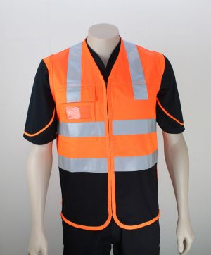 High Visibility Drill Day Night Vest