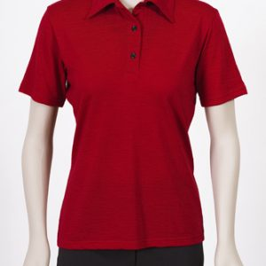 Ladies Merino Polo