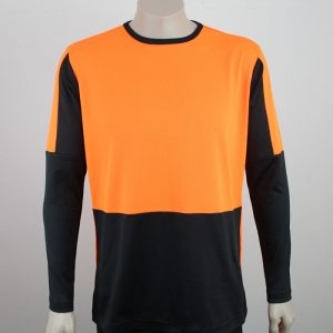 Hi Vis Panel Tee Long Sleeve