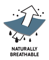 naturally breathable merino